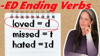 ED ENDINGS (2/3) American English Accent Training: PERFECT PRONUNCIATION