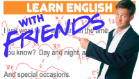 How to Speak Fast English with the TV Show Friends! | Fast English Training Lesson