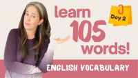 LEARN 105 ENGLISH VOCABULARY WORDS | DAY 2