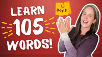 LEARN 105 ENGLISH VOCABULARY WORDS | DAY 5
