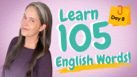 LEARN 105 ENGLISH VOCABULARY WORDS | DAY 8