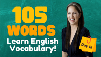 LEARN 105 ENGLISH VOCABULARY WORDS | DAY 13