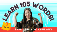 LEARN 105 ENGLISH VOCABULARY WORDS | DAY 14
