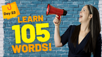 LEARN 105 ENGLISH VOCABULARY WORDS | DAY 23
