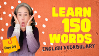 LEARN 105 ENGLISH VOCABULARY WORDS | DAY 24
