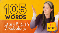 LEARN 105 ENGLISH VOCABULARY WORDS | DAY 27
