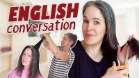 Learn English Conversation | Speaking English Going To The Hairdresser