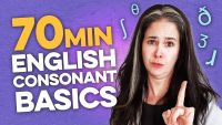 Learn 24 English Consonant Sounds in 70 Minutes | Pronunciation Compilation | Rachel's English
