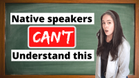 FAST ENGLISH: Native Speakers CAN'T Understand!